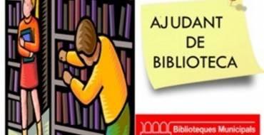 ¿Quieres ser ayudante de biblioteca por un día?