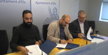 El Ayuntamiento cede un local a la asociación de artistas urbanos Viu Elx al Carrer