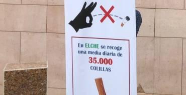 Presenten 'No llances les burilles al sòl', la nova campanya de l'Ajuntament i Urbaser