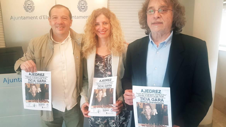 Ticia Gara, Gran Maestra de Ajedrez, jugará una partida simultánea en Elche