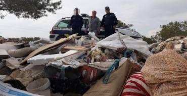 Identificación autores de vertidos de escombro en la Sierra del Molar