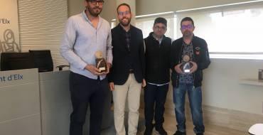 Otorgan los premios 'Emprendedor del mes' de enero y febrero de 2019