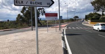 Este sábado se abrió al tráfico los cuatro carriles en el tramo que completa el desdoblamiento de la carretera Elche-Santa Pola en el término municipal de la villa marinera