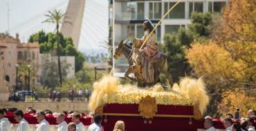 El Domingo de Ramos congrega a más de 55.000 personas en las calles del centro de Elche