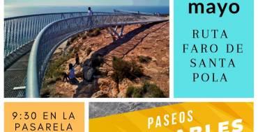 Paseos saludables Elche 2019, Ruta por el Faro de Santa Pola