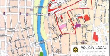 Cortes de calle o limitación de estacionamiento previstos para estos próximos días (24 a 30 de mayo)