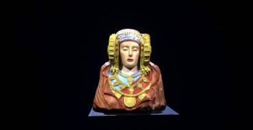 La Dama ya se puede ver en el MAHE de Elche con su policromía original