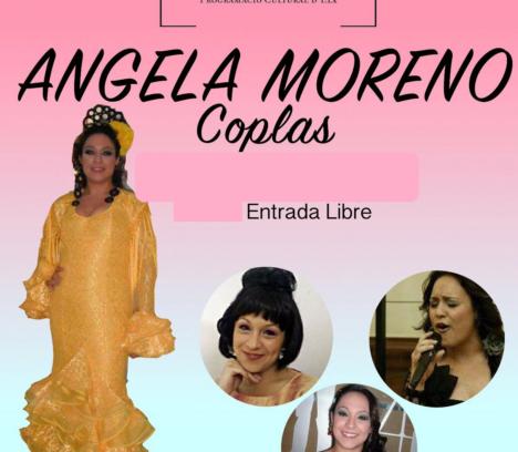 """Ángela Moreno: """"Coplas"""" en Santa Anna"""