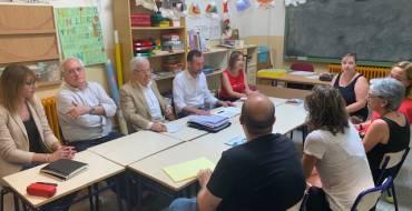Ayuntamiento, Generalitat y comunidad educativa del CEIP La Paz de Torrellano acuerdan construir un nuevo colegio