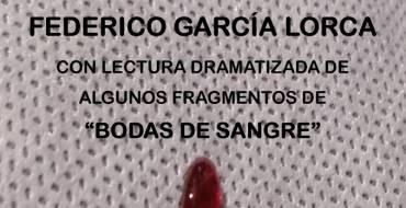 Federico García Lorca: antología dramatizada en el Claustro de la Biblioteca Pedro Ibarra