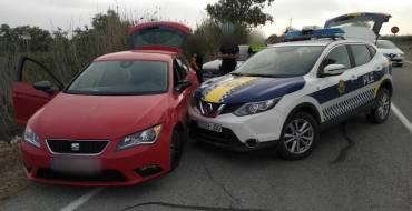 Detenido conductor infractor tras una conducción temeraria