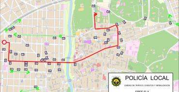 Cortes de calle o limitación de estacionamiento previstos para estos próximos días (14 al 20 de junio)