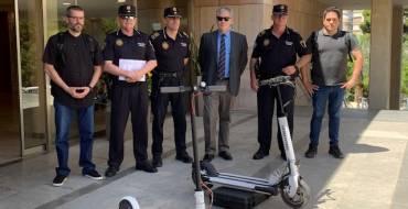 La Policía Local de Elche pone en marcha un programa pionero para el control de los Vehículos de Movilidad Personal