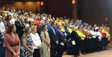 El alcalde y la concejala de Educación y Universidad asisten a la clausura del curso en la UMH