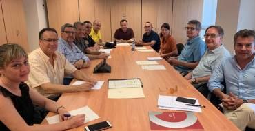 Reunión para coordinar el dispositivo de la Nit de l'Albà