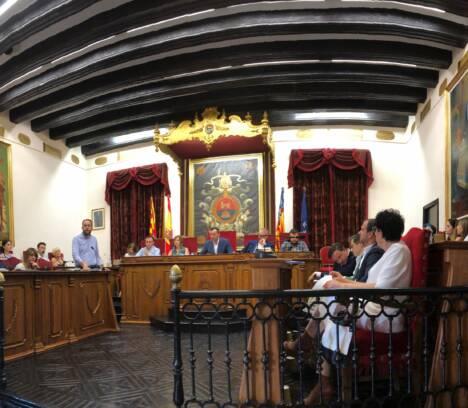 El pleno aprueba la organización del nuevo Ayuntamiento de Elche