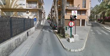 Corte total calle Velarde