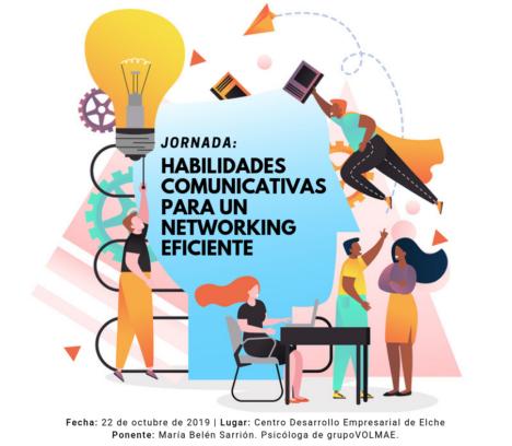 Jornada: Habilidades comunicativas para un networking eficiente