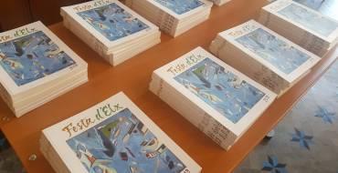 La revista Festa d'Elx cumple sesenta números con una portada que homenajea la obra pictórica de Vicente Verdú