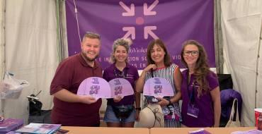Éxito de los Puntos Violeta durante las Fiestas Patronales