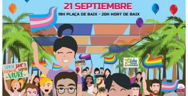 Carla Antonelli amadrinará la primera manifestación del Orgullo LGTBI
