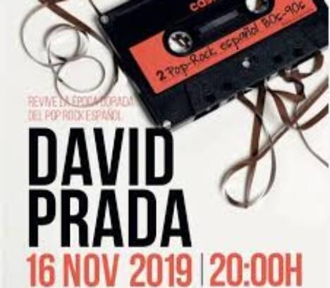 David Prada, tribut pop espanyol 80's | 90's