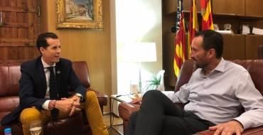 Carlos González recibe al presidente de la Federación Valenciana de Municipios y Provincias