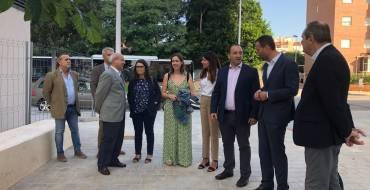 El alcalde y el conseller de Vivienda asisten al inicio de las obras del tercer bloque de San Antón
