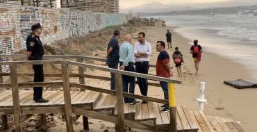 El alcalde anuncia un plan extraordinario para reparar los daños del temporal tras visitar las zonas del municipio más afectadas por las lluvias
