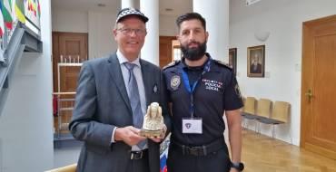 Un policía local de Elche representa a España en un simposio internacional sobre siniestros de tráfico celebrado en Alemania