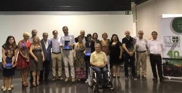 Más de un centenar de personas asisten a la celebración del 40 aniversario de la Federación de Asociaciones Vecinales de Elche