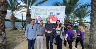 Valverde acoge la celebración del Día de Convivencia Vecinal en la que participan más de 300 personas