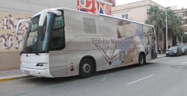 El bibliobús reprén de nou la seua activitat després de la reparació de l'avaria que el mantenia fora de servei.