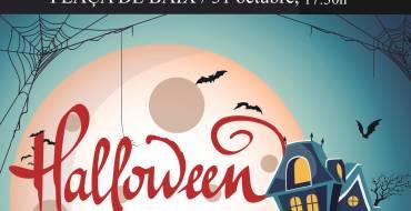 La Plaça de Baix, escenario terrorífico en Halloween