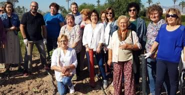 Los ediles de Desarrollo Rural e Igualdad acompañan a las mujeres del Camp d'Elx en el Día Internacional de la Mujer Rural