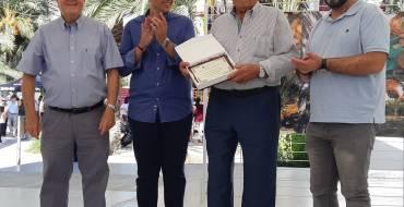 Francisco Serrano Valero galardonado con el Premio del Agricultor Mayor «Premi Antonio Valero»