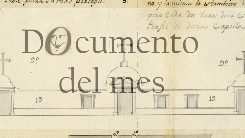 NOVEMBRE: PLÀNOL DEL CEMENTERI VELL D'ELX (1807)