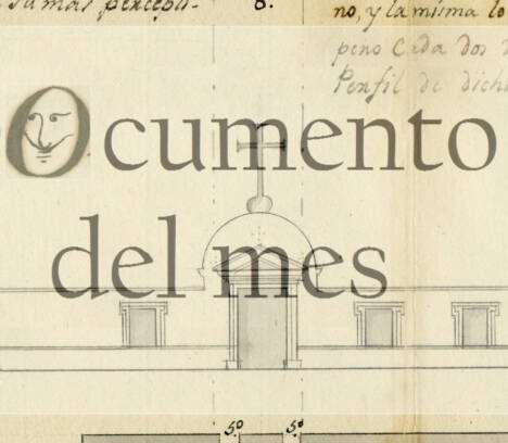 NOVIEMBRE: PLANO DEL CEMENTERIO VIEJO DE ELCHE (1807)