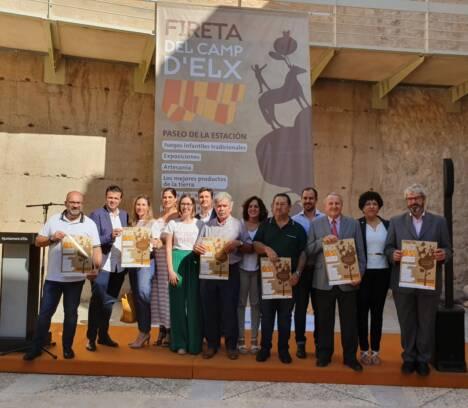 Cuenta atrás para la novena edición de la Fireta del Camp d'Elx en el que  participan más de 50 expositores
