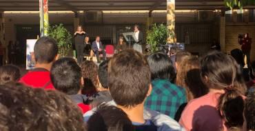 El alcalde felicita al instituto Pedro Ibarra por su XL aniversario como centro educativo ejemplar