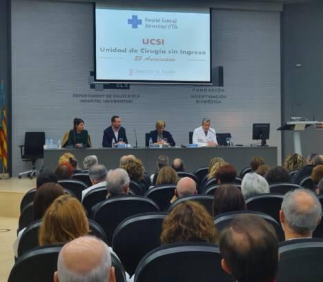 El alcalde reconoce la labor de la Unidad de Cirugía Sin Ingreso en su 25 aniversario