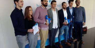 Una empresa de seguridad alimentaria y una startup de elaboración de snacks fritos, ganadoras del Business Markett
