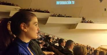 La regidora de Cultura dona suport a Informació TV pel seu X aniversari