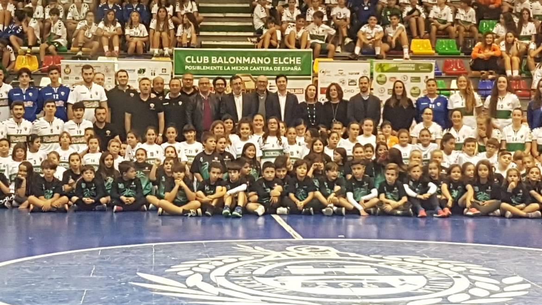 El Club Balonmano Elche, a la conquista de la temporada 2019/2020