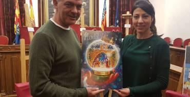 Vicente Javier Poveda, ganador del Concurso del Cartel Anunciador de Navidad de la Concejalía de Fiestas