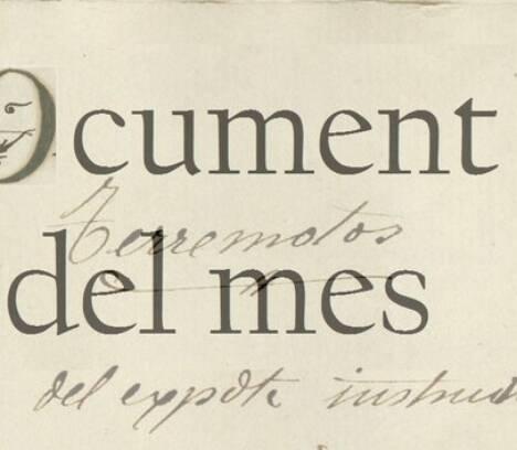 DICIEMBRE: LOS DAÑOS PROVOCADOS POR EL TERREMOTO DE 1829