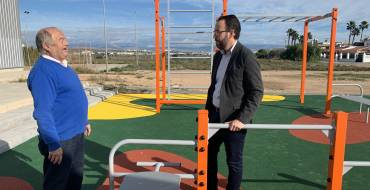 L'Ajuntament inverteix 35.000 euros en un parc de cal·listènia per a l'Altet