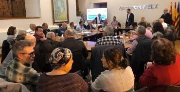 L'alcalde anuncia un pla d'inversió de més de 30 milions d'euros per a modernitzar les pedanies