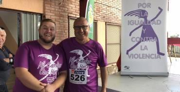 """Más de 700 personas participan en la  carrera soliadaria """"Mil Camins, una Meta"""" en las pedanías de Daimés y Derramador"""