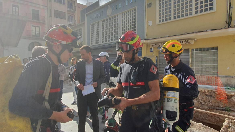 El alcalde de Elche ha confirmado el hallazgo del refugio de la Guerra Civil en el Mercado Central